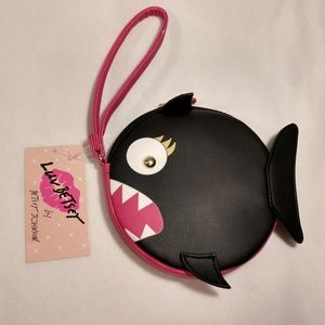 Betsey Johnson Piranha Wristlet
